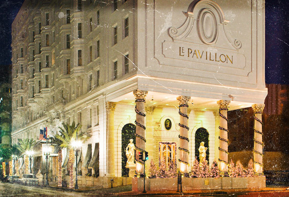 Hasil gambar untuk Hotel Le Pavillon, New Orleans, Louisiana