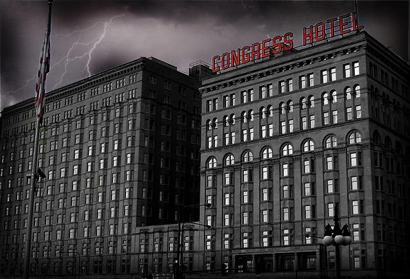 Congress Plaza Hotel Haunted Chicago Frightfind
