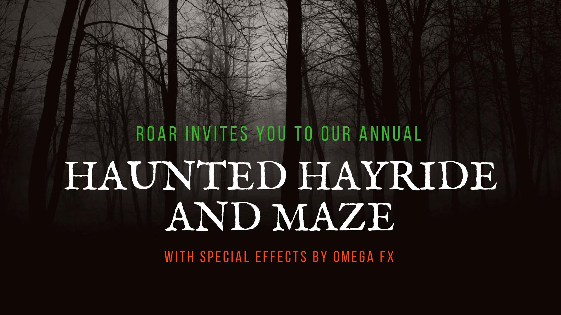 Haunted Hayride And Maze Frightfind