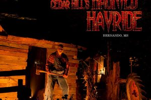 Cedar Hill Farm's Haunted Hayride