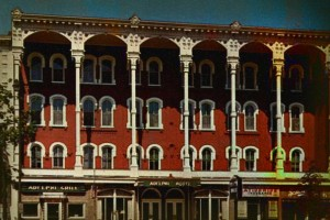 Adelphi Hotel Haunted Hotel