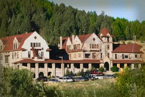 Boulder Hot Springs Hotel Haunted Hotel