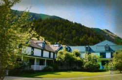 Chico Hot Springs Resort Haunted Hotel