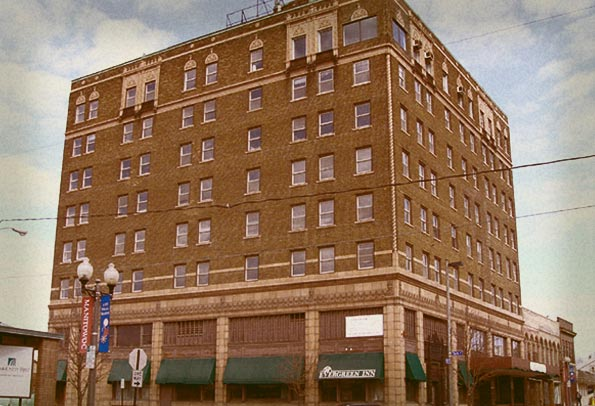 Evergreen Inn Haunted Hotel Manitowoc Place