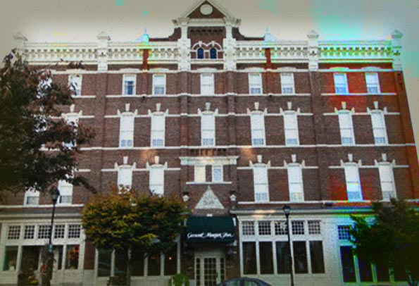 General Morgan Inn Haunted Hotel
