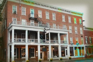 Golden Lamb Inn Haunted Hotel