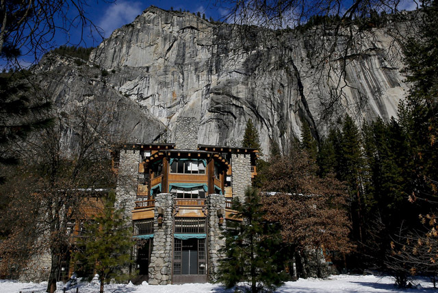 The Haunted Ahwahnee Hotel