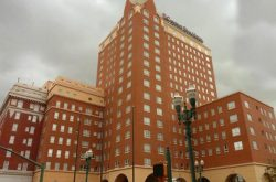 Haunted Camino Real Hotel in El Paso, Texas