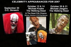Holls Haunted Chicken House Celebrities 2017