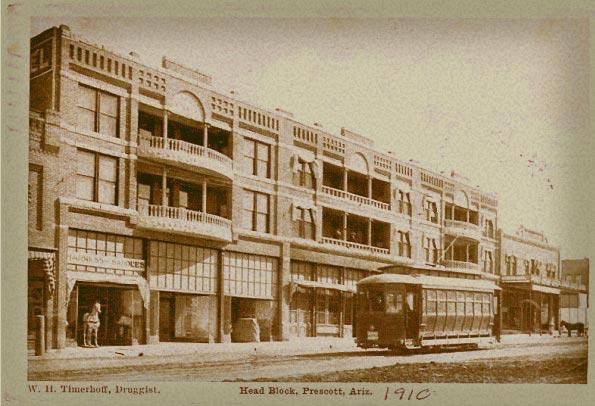 Head Hotel Prescott Inn Haunted