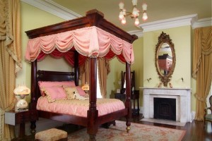Haunted Nottoway Plantation Bedroom