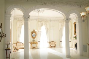 Haunted Nottoway Plantation White Room