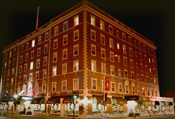 Haunted Hawthorne Hotel In M Ma