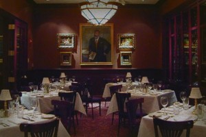 Haunted Hotel Savoy Dining Room
