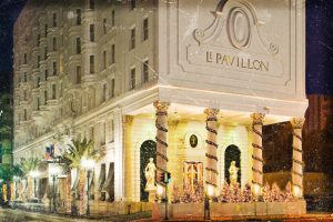 Haunted Le Pavillon Hotel in New Orleans
