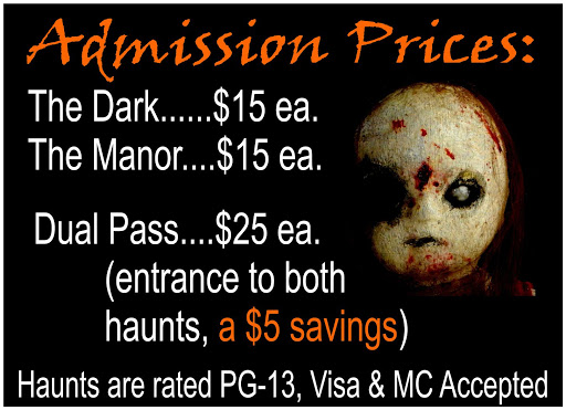 Milburns Haunted House Prices