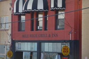 Mile High Grill Haunted Inn