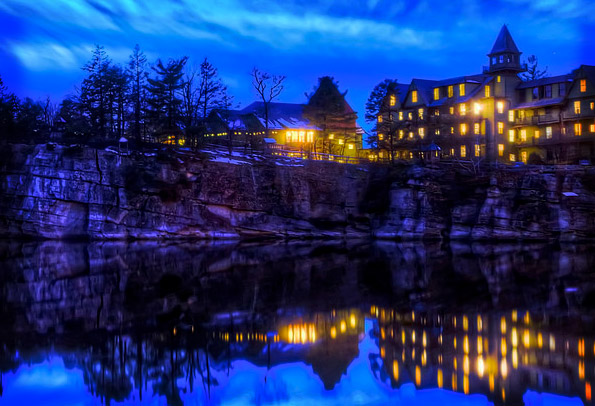 Haunted Mohonk Mountain House Hotel