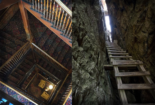 Mohonk Mountain House Spooky Staircases