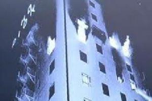 Pioneer Haunted Hotel Fire
