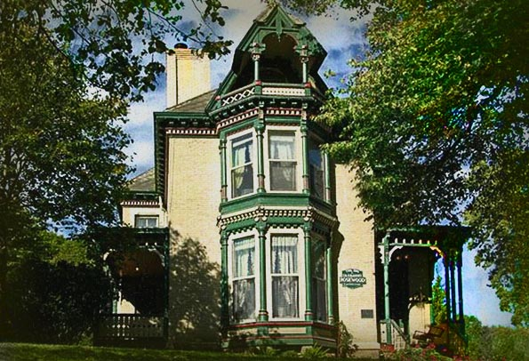 Rosewood Inn Bed And Breakfast Haunted Hotel