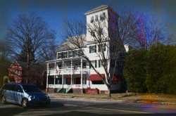 Saxtons River Inn Haunted Hotel