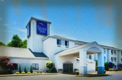 Sleep Inn Haunted Hotel