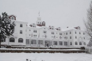 Shining Hotel in Winter
