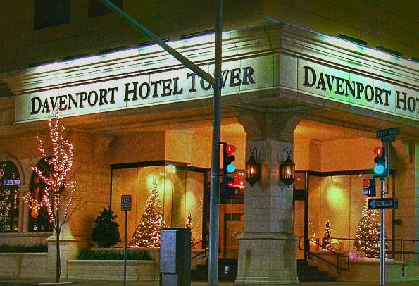 Hotels In Spokane Wa >> The Haunted Davenport Hotel In Spokane Wa Frightfind