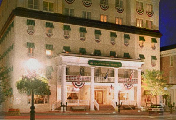 The Gettysburg Hotel Haunted