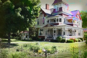 The Grand Victorian Bed and Breakfast Inn Haunted Hotel