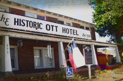 The Historic Ott Hotel Haunted Hotel