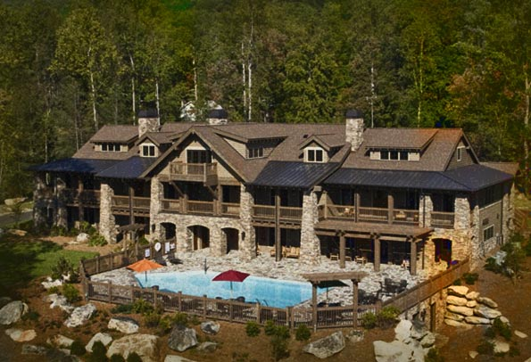 The Lodge On Lake Lure Haunted Hotel