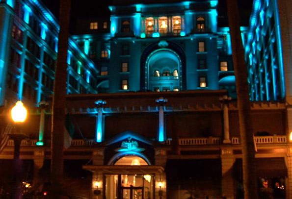 Us Grant Hotel Haunted San Go