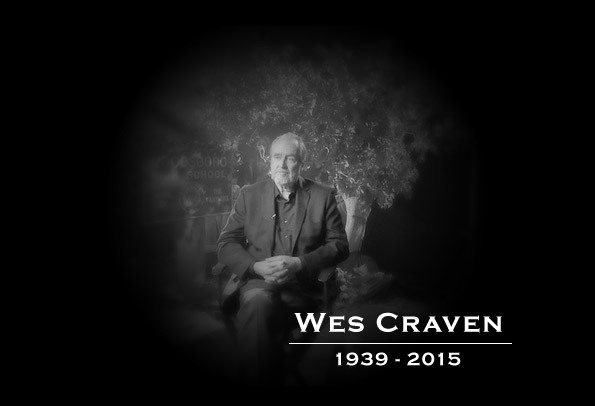 Wes Craven - RIP 1939 to 2015