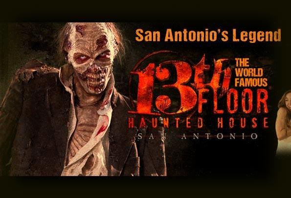 13th Floor Haunted House in San Antonio