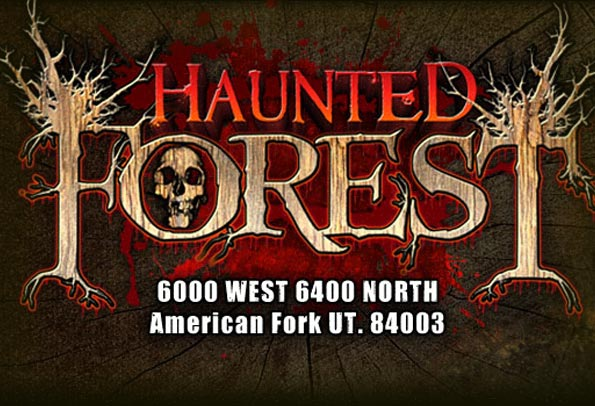 Haunted forest frightfind for 13th floor haunted house pa