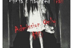 Mima's Haunted Trail - Flyer