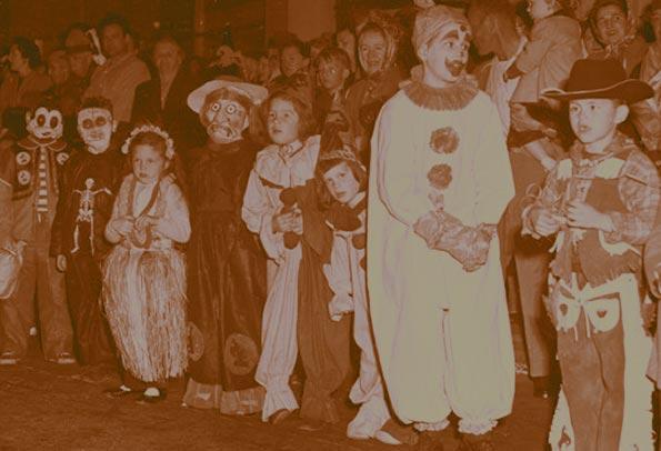 Halloween 1950's