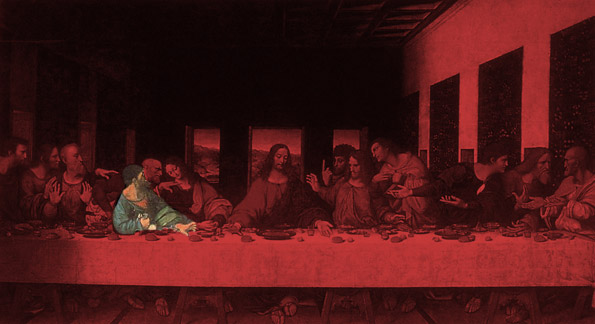 13th at the Last Supper