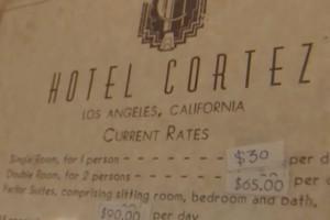 Hotel Cortez AHS Room Rates