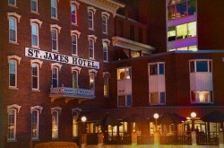 St. James Haunted Hotel in Minnesota