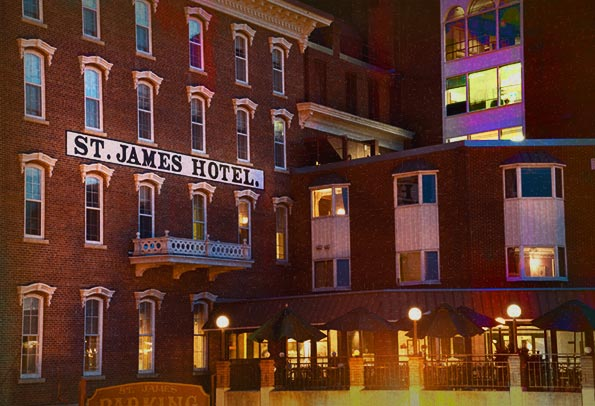 St James Haunted Hotel