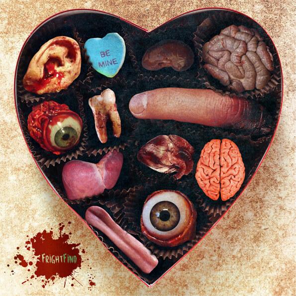 Zombie Valentine's Day Gift