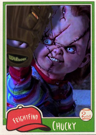 Chucky - All Horror All Star Baseball Team