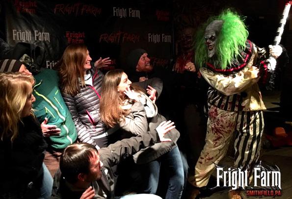 Fright Farm Haunted House in Smithflield, Pennsylvania