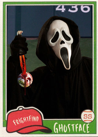 Ghostface - All Horror All Star Baseball Team
