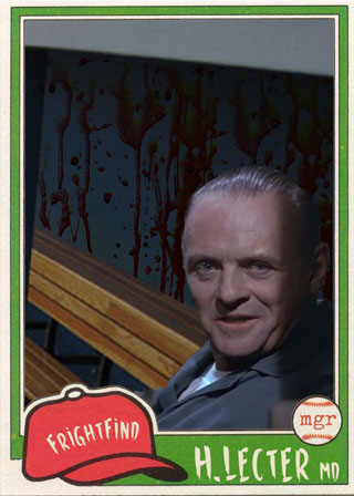 Hannibal Lecter - All Horror All Star Baseball Team