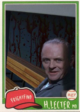 Hannibal Lecter - All Horror All Star Baseball Team