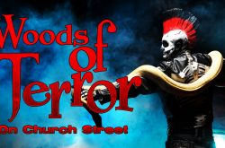 Woods of Terror on Church Street. Haunted House in Greensboro, North Carolina